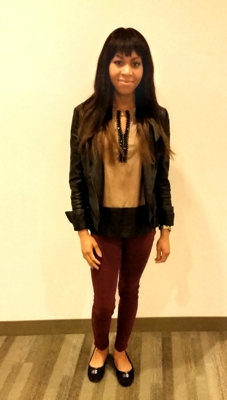 Horizons Editor-at-Large Latisa Pacheco, showing off her impeccable sense of style.