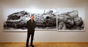 New Art Exhibit Rhythm In The Rhino
