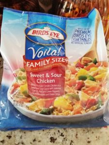 One of my favorite Birds Eye Voila! meals. A delicious, quick, and easy choice!