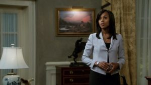 "Kerry Washington portrays Olivia Pope, aka ""The Fixer"" for a fifth season. (Courtesy of ABC.com)"