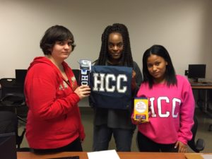 The Team! From left to right: Stephanie Lemieux, Lisa McCree, and Aniyah Haynes