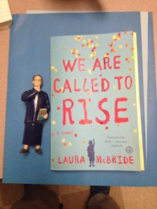 "The all-mighty librarian SHUSHING powers can't keep us down when we're ""Called to Rise!"" Photo courtesy of Jennifer Lutris"