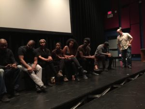 Professor Sheehan heads up the Q&A ReBirth Arts Collective, the Black Revolutionary Theatre Workshop