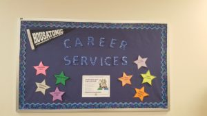 The Career Services center will help you with careers and much more. (Photo by Kathleen Chaves)