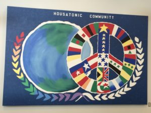 HCC unity mural on the 3rd floor in Beacon Hall Student Lounge. Photo By Jessica M. James