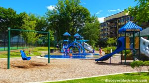 Ellsworth Park's new, innovative playground. Photo courtesy of Discover Black Rock (blackrockct.com)